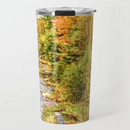 A New Hampshire Autumn Travel Mug