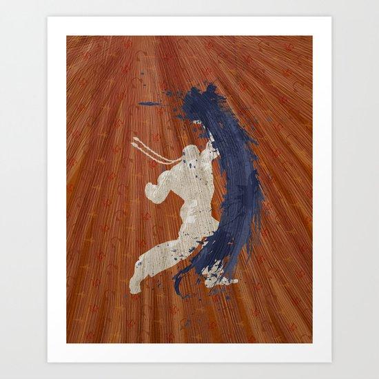 Maximum Rhythm (Homage to Dee Jay) Art Print