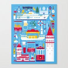 Istanbul Canvas Print