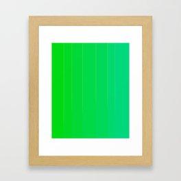 Variety Green Framed Art Print