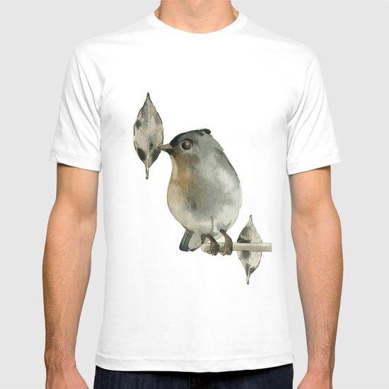 Grey Birdy T-shirt