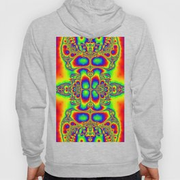 """Psyche"" Super Psychedelic Trippy Fractal Art Print Hoody"