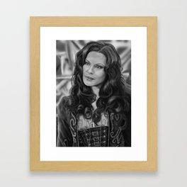 Kate Beckinsale as Anna Valerious in Van Helsing Framed Art Print