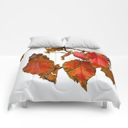 Autumn On A Branch Comforters