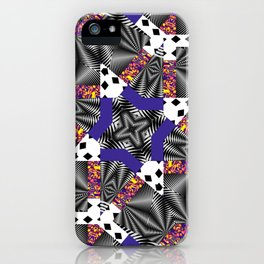 Mashed-up Print iPhone Case