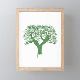 Genealogist Genealogy Family History Historian I Shook My Family Tree Gift Framed Mini Art Print