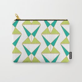 Retro Geometric Mid Century Modern Carry-All Pouch