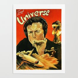 Elon Musk Smoking Poster