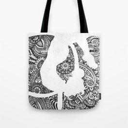 Hula Hooper Tote Bag