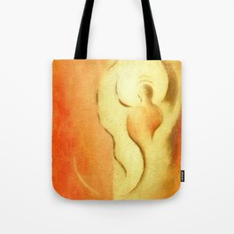 Angel of joy and creativity Tote Bag