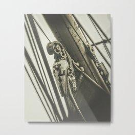 Ship Figurehead Metal Print