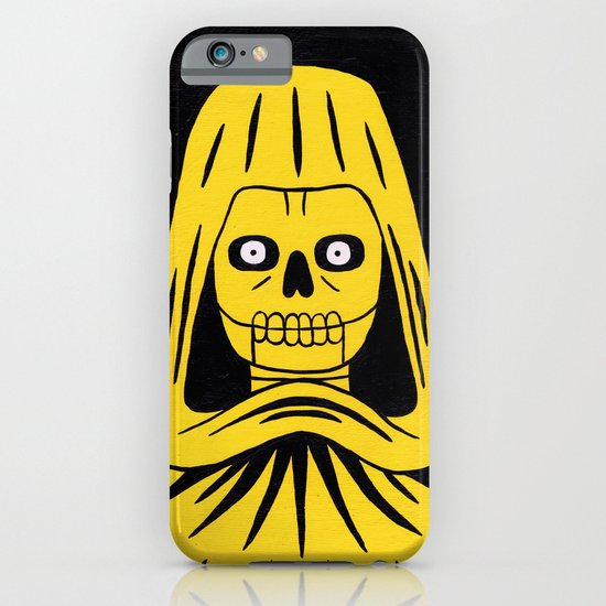 Yellow Death iPhone & iPod Case