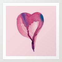 Heart Me Up Art Print