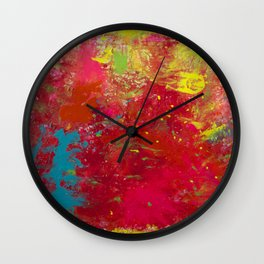 Tie-Dye Veins Wall Clock