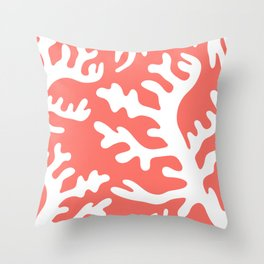 LIVING CORAL 2 Throw Pillow