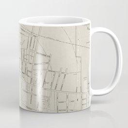 Vintage Map of Princeton NJ (1915) Coffee Mug