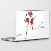french Laptop & iPad Skins featuring French by MGNFQ
