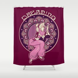 Dreaming of Jeannie Shower Curtain