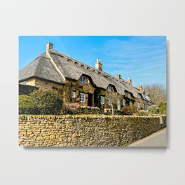 Cotswold Cottages  Metal Print