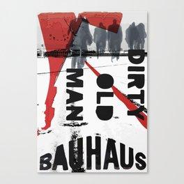 Poster art design Canvas Print