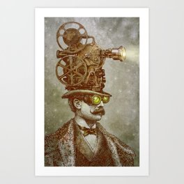 The Projectionist Art Print