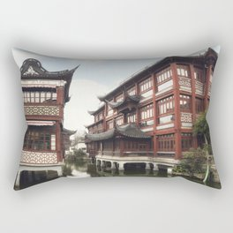 Yuyuan Garden (Garden of Happiness) is an extensive Chinese garden located in the Old City of Shangh Rectangular Pillow
