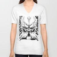 predator V-neck T-shirts featuring Predator by P2theK
