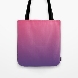Bright Pink Ultra Violet Gradient | Pantone Color of the year 2018 Tote Bag