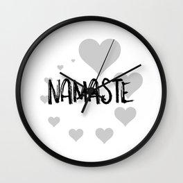 Namaste no.3 Wall Clock