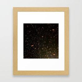Confetti Celebration Framed Art Print