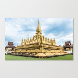 Pha That Luang I, Vientiane, Laos Canvas Print