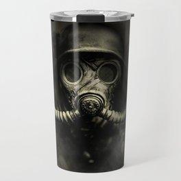 Vintage, soujer, warrior gas mask Travel Mug
