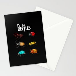 The Beetles, a parody with one of the biggest rock bands of all time. Stationery Cards