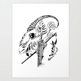 Goat Art Print