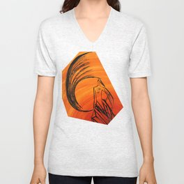 Angel under cover Unisex V-Neck