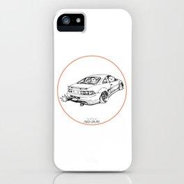 Crazy Car Art 0205 iPhone Case