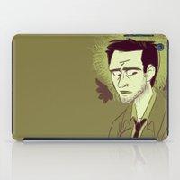 castiel iPad Cases featuring Castiel by The Art of Nicole