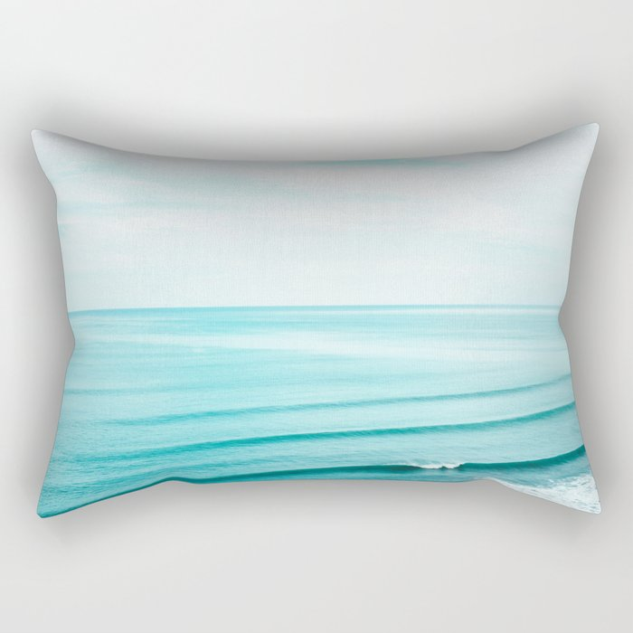 Minimal Beach Rectangular Pillow