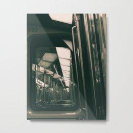 Montreal Train Metal Print