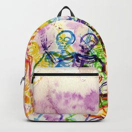 Skeleton Party Backpack