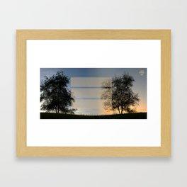 Day' N Nite Framed Art Print
