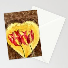 My Heart Always With You Stationery Cards