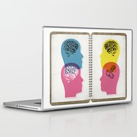 law Laptop & iPad Skins featuring law of averages by Vin Zzep