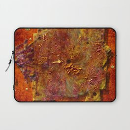 Abstract disc Laptop Sleeve