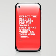 YOUR OWN THING iPhone & iPod Skin