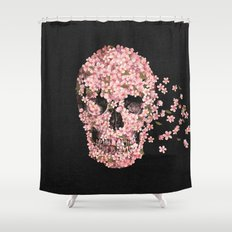 A Beautiful Death  Shower Curtain