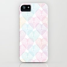 Patterns Of My Heart Slim Case iPhone (5, 5s)