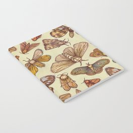 Moth Pattern Notebook