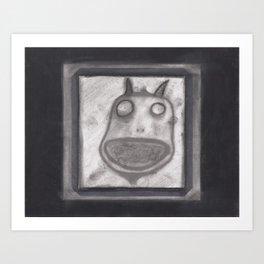 clueless Art Print