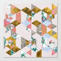 Canvas Prints featuring Geometry of Love #society6 #decor #buyart by 83 Oranges™